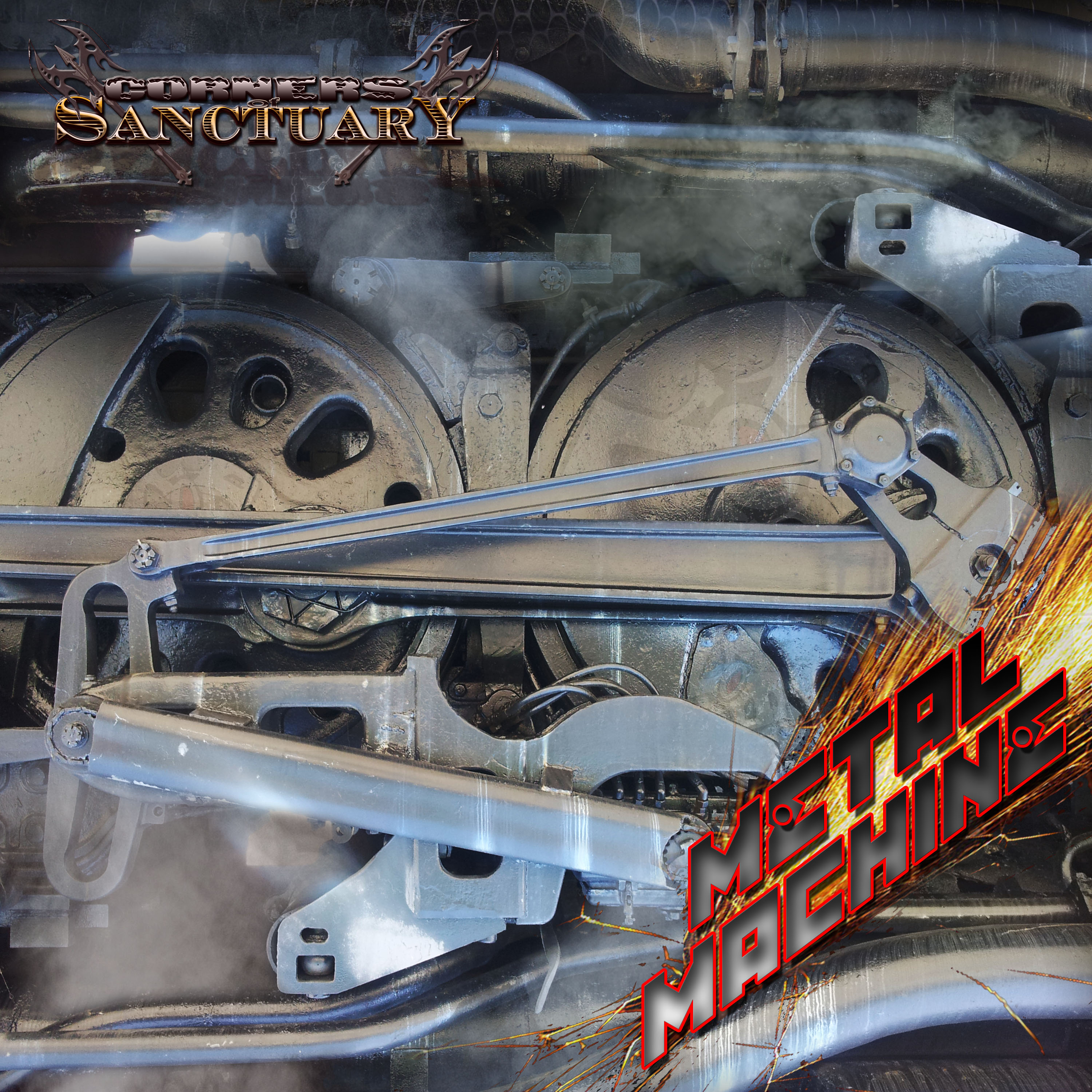Corners of Sanctuary - Metal Machine CD Artwork